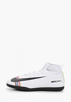 ae42a52a Бутсы зальные, Nike, цвет: белый. Артикул: NI464AKETLQ4. Мальчикам / Спорт