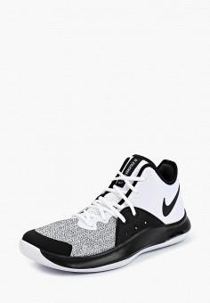 Кроссовки, Nike, цвет  белый. Артикул  NI464AMBWRP3. Спорт   Баскетбол   7d502a40b8c