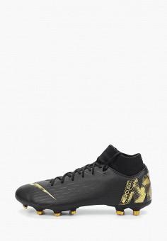 addd2908 Бутсы, Nike, цвет: черный. Артикул: NI464AMDMZH7. Спорт / Футбол /