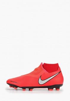 9104f6e4 Бутсы, Nike, цвет: красный. Артикул: NI464AMDMZJ4. Спорт / Футбол /