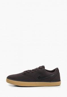 c88cb607290e Кеды, Nike, цвет  коричневый. Артикул  NI464AMDNAK9. Обувь   Кроссовки и