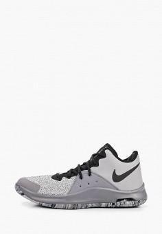 Кроссовки, Nike, цвет  серый. Артикул  NI464AMDNBS9. Спорт   Баскетбол   716b37794c1