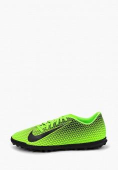 f1341bc7 Бутсы, Nike, цвет: зеленый. Артикул: NI464AMFMQT7. Обувь / Кроссовки и.  new. футбол
