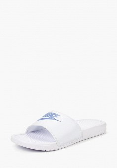 996adfb8b Сланцы, Nike, цвет: белый. Артикул: NI464AMRYQ41. Обувь / Резиновая обувь