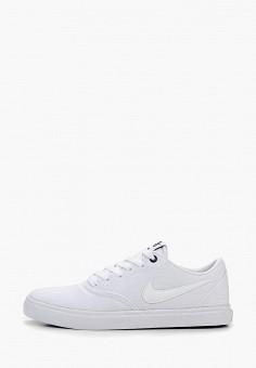 91c598f5 Кеды, Nike, цвет: белый. Артикул: NI464AWDNBZ2. Обувь / Кроссовки и
