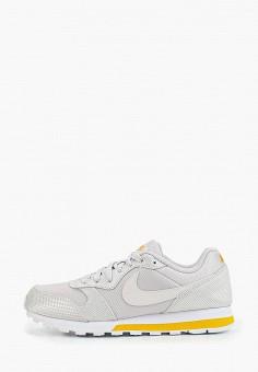6cc9803ece445a Кроссовки, Nike, цвет: серый. Артикул: NI464AWFMYM3. Обувь / Кроссовки и