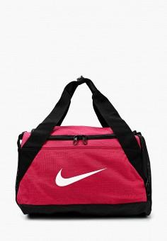 0d1943fa70f1 Сумка спортивная, Nike, цвет: розовый. Артикул: NI464BUAAAM0. Спорт / Фитнес