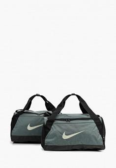 Сумка спортивная, Nike, цвет  хаки. Артикул  NI464BUDMZB1. Аксессуары    Сумки 1e48d76d55c