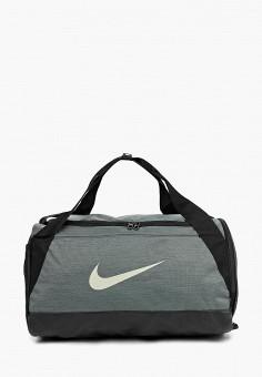 69874677bc36 Сумка спортивная, Nike, цвет: хаки. Артикул: NI464BUDMZB1. Спорт / Фитнес