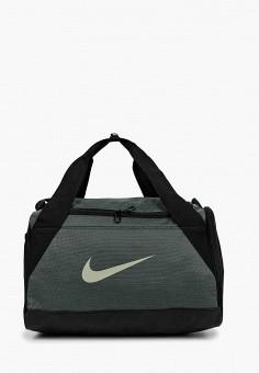 5d32fb65 Сумка спортивная, Nike, цвет: серый. Артикул: NI464BUDMZB2. Аксессуары /  Сумки