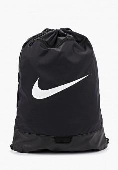 bb198b72 Мешок, Nike, цвет: черный. Артикул: NI464BUFLAJ9. Аксессуары / Рюкзаки /
