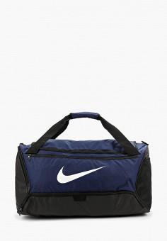 12cd7404 Сумка спортивная, Nike, цвет: синий. Артикул: NI464BUFLAT5. Аксессуары /  Сумки