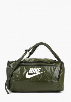 9cffdd12 Сумка спортивная, Nike, цвет: хаки. Артикул: NI464BUFLAU1. Аксессуары /  Сумки