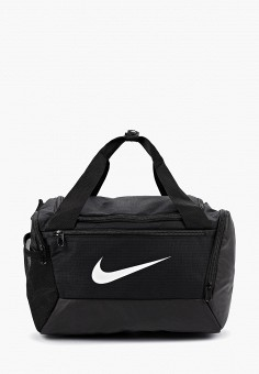 2a919559 Сумка спортивная, Nike, цвет: черный. Артикул: NI464BUFLAU2. Аксессуары /  Сумки