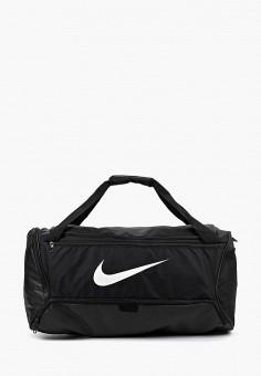933eb31bfedd Сумка спортивная, Nike, цвет: черный. Артикул: NI464BUFLAU4. Аксессуары /  Сумки