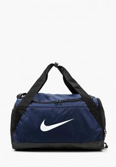 e395528d9d81 Сумка спортивная, Nike, цвет: синий. Артикул: NI464BURYL82. Аксессуары /  Сумки