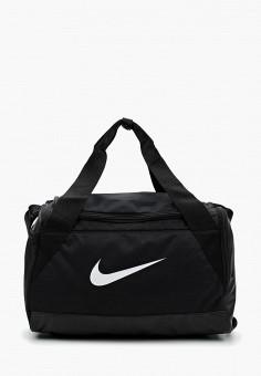 86d23118f74971 Сумка спортивная, Nike, цвет: черный. Артикул: NI464BUUFA36. Аксессуары /  Сумки