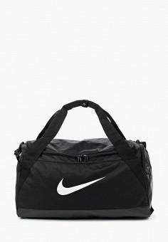 0d2ad52d5ea16 Сумка спортивная, Nike, цвет: черный. Артикул: NI464BUUFB77. Аксессуары /  Сумки