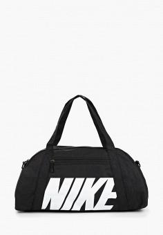 8f428855 Сумка спортивная, Nike, цвет: черный. Артикул: NI464BWDMZB4. Аксессуары /  Сумки