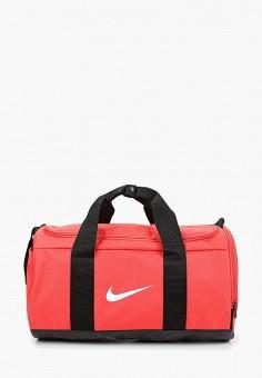 4d48054abd45 Сумка спортивная, Nike, цвет: коралловый. Артикул: NI464BWDMZC4. Аксессуары  / Сумки