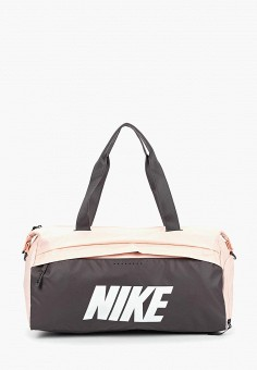 Сумка спортивная, Nike, цвет  розовый. Артикул  NI464BWDMZC5. Аксессуары    Сумки e9cea4654e8
