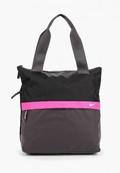 c692750d2638 Сумка, Nike, цвет: черный. Артикул: NI464BWDSHA1. Спорт / Все спортивные