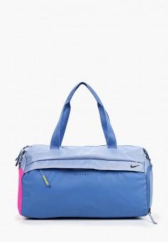 b561e6af24a9 Сумка спортивная, Nike, цвет: голубой. Артикул: NI464BWDSHA5. Аксессуары /  Сумки