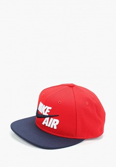 6448e4b1 Бейсболка, Nike, цвет: красный. Артикул: NI464CKDSIG3. Мальчикам /  Аксессуары