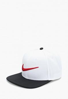62e63a65 Бейсболка, Nike, цвет: белый. Артикул: NI464CUDMYS4. Спорт / Все спортивные