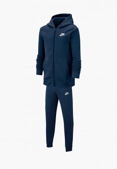 d7e3ba9f6199e Костюм спортивный, Nike, цвет: синий. Артикул: NI464EBFMCX3. Мальчикам /  Одежда