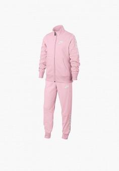 Костюм спортивный, Nike, цвет  розовый. Артикул  NI464EGDSIR0. Девочкам    Одежда 3cbb96fdba4