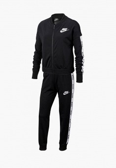 b0114e4b587b8 Костюм спортивный, Nike, цвет: черный. Артикул: NI464EGFMCS1. Девочкам /  Одежда