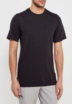 Футболка спортивная, Nike, цвет  черный. Артикул  NI464EMAACJ7. Одежда    Футболки 3b4025c3292