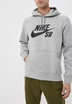 57627eda Худи, Nike, цвет: серый. Артикул: NI464EMBWIO7. Одежда / Толстовки и