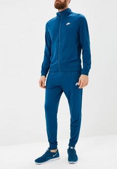 0b8e9be3465e Костюм спортивный, Nike, цвет  синий. Артикул  NI464EMCMJF7. Одежда    Спортивные