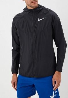 fc391060 Ветровка, Nike, цвет: черный. Артикул: NI464EMDNDA9. Одежда / Верхняя одежда