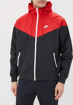 62703488 Ветровка, Nike, цвет: красный. Артикул: NI464EMDNDB8. Одежда / Верхняя  одежда