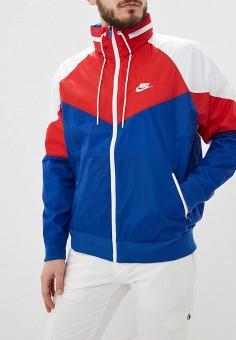 0a4169a9 Ветровка, Nike, цвет: синий. Артикул: NI464EMDNDC3. Одежда / Верхняя одежда