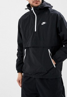 802c940d Ветровка, Nike, цвет: черный. Артикул: NI464EMDNDC5. Одежда / Верхняя одежда
