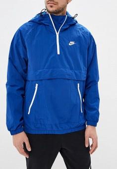 e621dc5b641a Ветровка, Nike, цвет  синий. Артикул  NI464EMDNDC6. Одежда   Верхняя одежда