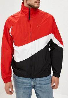 9b8e2625 Ветровка, Nike, цвет: красный. Артикул: NI464EMDNDD2. Одежда / Верхняя  одежда