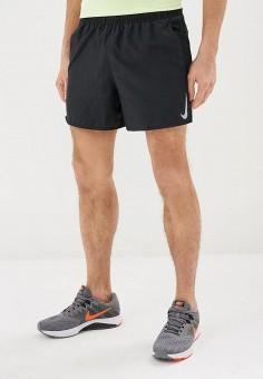 7dcf4a8b Шорты спортивные, Nike, цвет: черный. Артикул: NI464EMDNDG1. Спорт / Бег