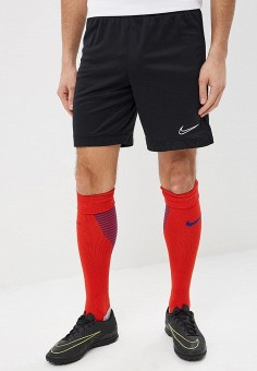 Шорты спортивные, Nike, цвет  черный. Артикул  NI464EMDNDH6. Одежда   Шорты.  футбол a7888cb6d3a