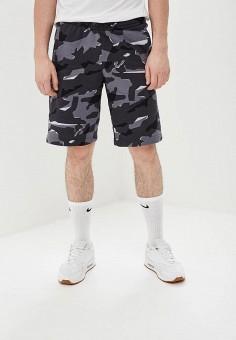 f2136a56 Шорты, Nike, цвет: серый. Артикул: NI464EMDNDJ6. Одежда / Шорты