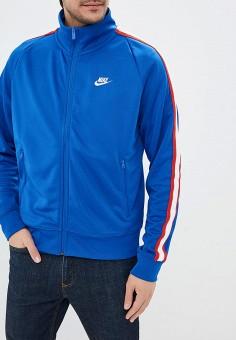 946559e6 Олимпийка, Nike, цвет: синий. Артикул: NI464EMDNDM2. Одежда / Толстовки и