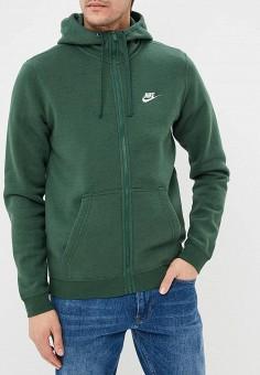 ac6d8815303a Толстовка, Nike, цвет  зеленый. Артикул  NI464EMDNDP3. Одежда   Толстовки и