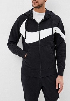 b06ff012 Толстовка, Nike, цвет: черный. Артикул: NI464EMDNEK1. Одежда / Толстовки и
