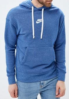cb99474f Худи, Nike, цвет: синий. Артикул: NI464EMDNEL4. Одежда / Толстовки и