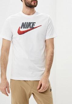 fc808cad Футболка, Nike, цвет: белый. Артикул: NI464EMDNET8. Одежда / Футболки и