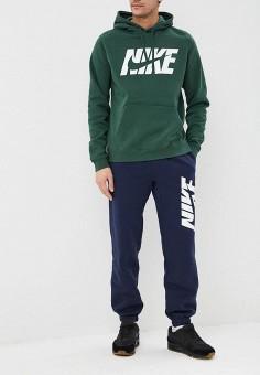 be00bf99 Костюм спортивный, Nike, цвет: зеленый, синий. Артикул: NI464EMDNFI9. Одежда